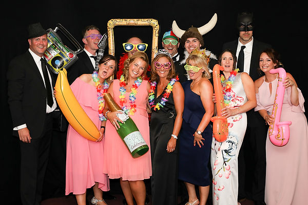 photo booth hire Warrington with photography