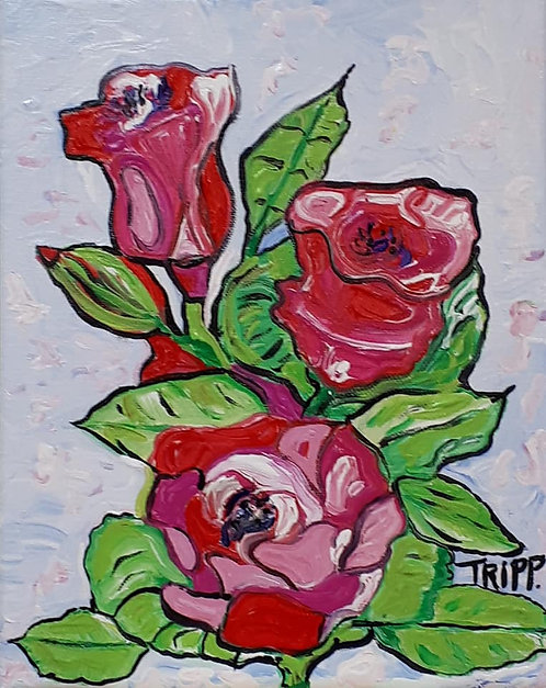Trippy Roses