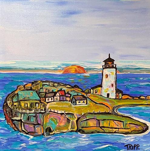 Whale Island Light