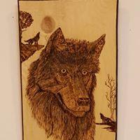 Lobo Woodburning #32