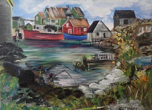 A Vignette Of Peggy's Cove