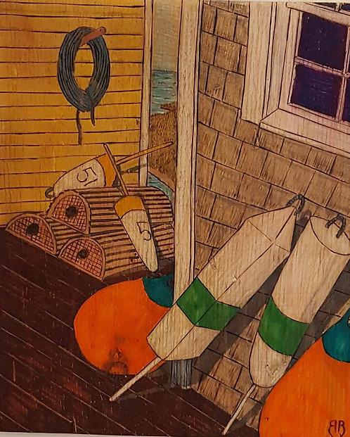 The Net Loft Woodburning #26