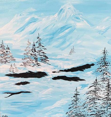 Mountain Winter Meadow