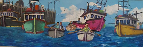 A Fishing Family