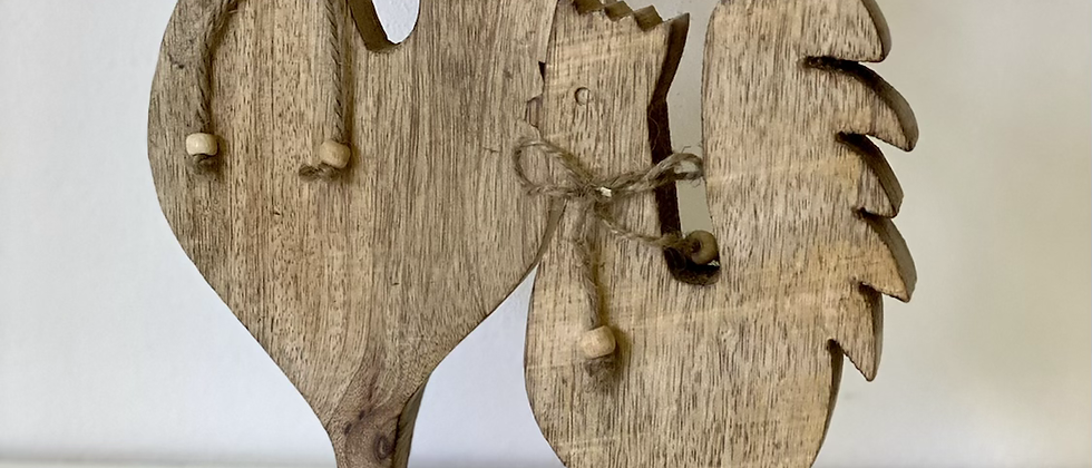 Dřevěný kohout