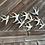 Thumbnail: Nástěnná dekorace vlaštovky