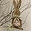 Thumbnail: Dřevěný zajíc