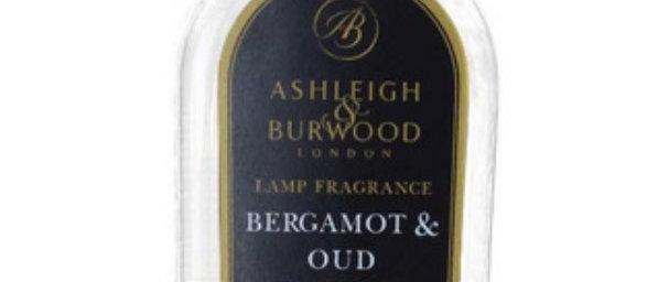 Náplň do katalytické lampy BERGAMOT & OUD 500 ml