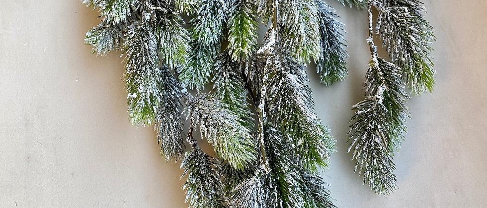 Závěsná větvička - zasněžená jedle