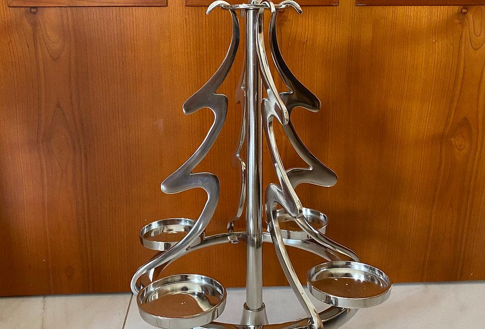 Adventní kovový strom
