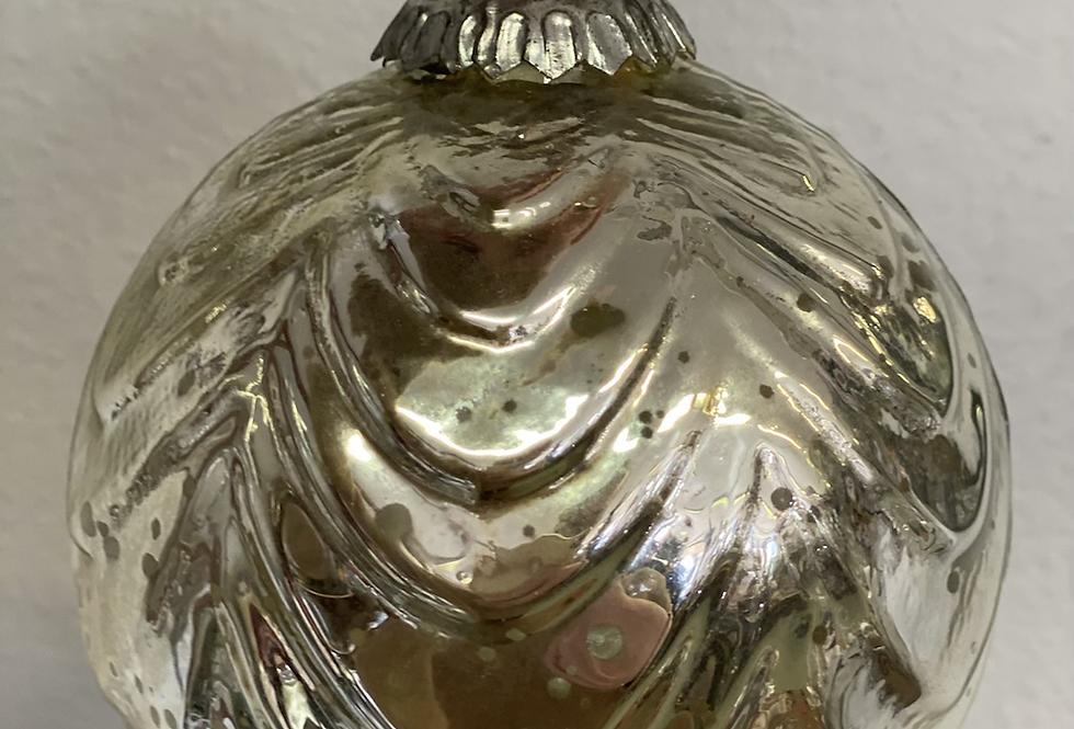 Retro stříbrná koule