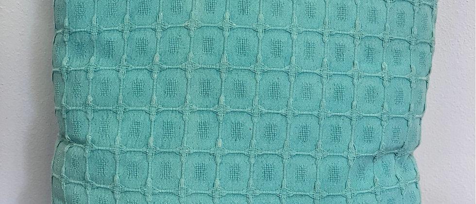 Tyrkysový polštář