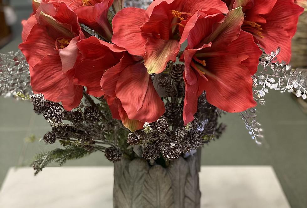 Váza dekor peříček