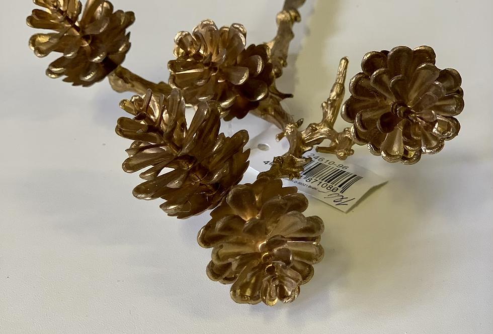 Zlatá větvička šišek