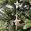 Thumbnail: Závěs se stříbrnými hvězdičkami