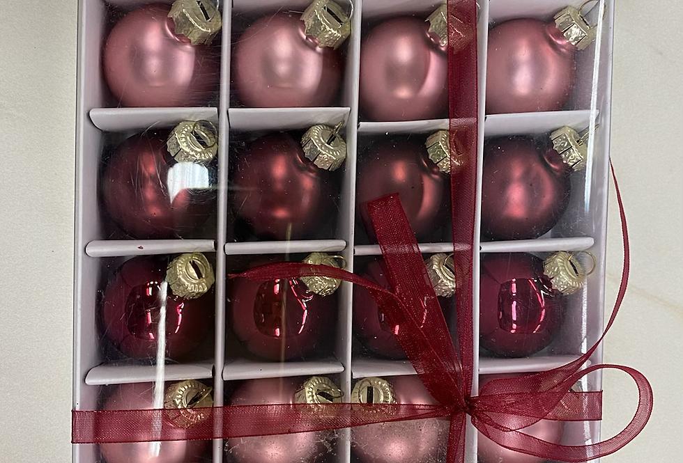 Sada vánočních kuliček