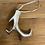 Thumbnail: Ozdoba kovový paroh