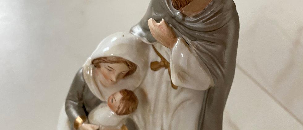Vánoční figurka - svatá rodina