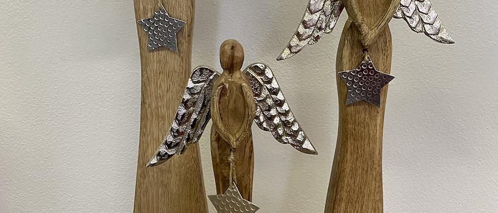 Anděl mangové dřevo