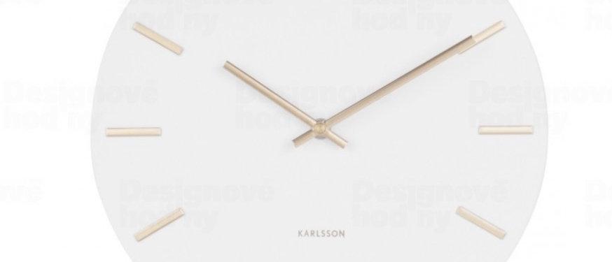 Designové nástěnné hodiny Karlsson