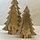 Thumbnail: Dřevěný stromeček dvoudílný