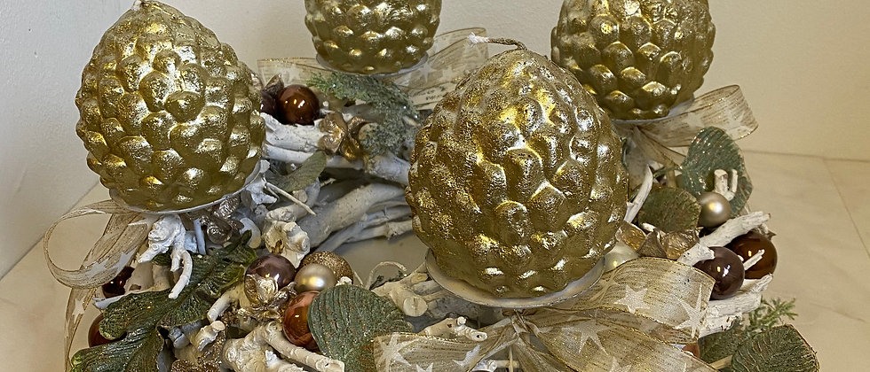 Vánoční věnec Grafias