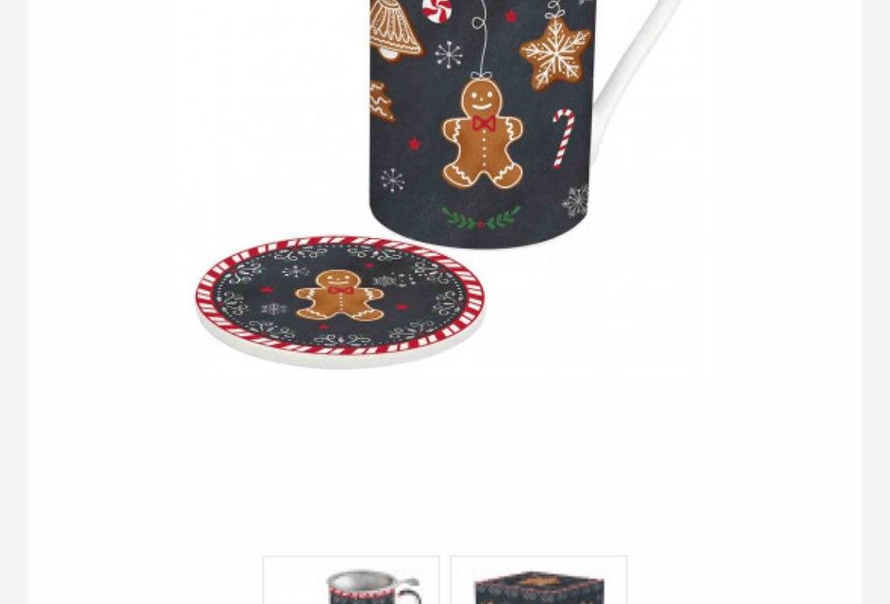 Vánoční čajový šálek