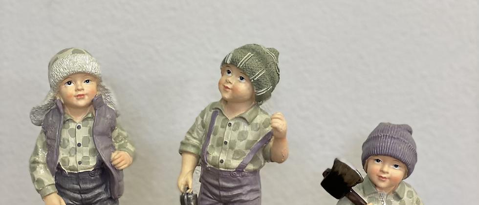 Vánoční figurka - chlapec