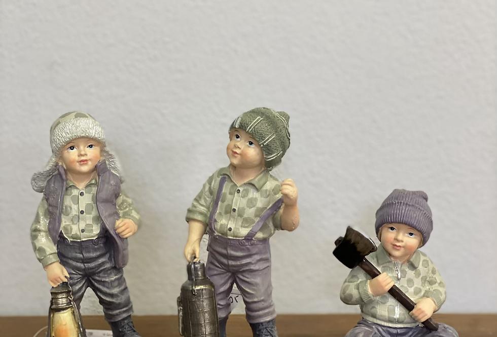 Vánoční figurky chlapci