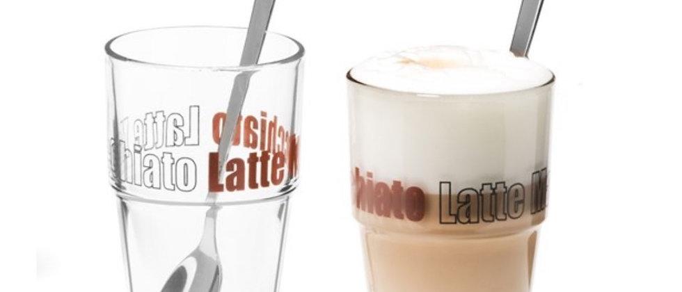 Sklenice na latte
