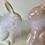 Thumbnail: Perleťový zajíc s peříčkama