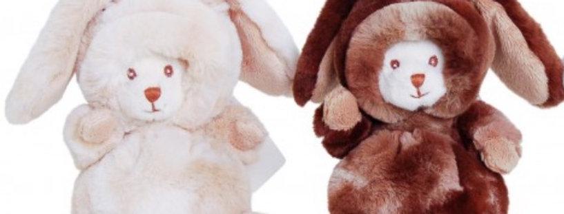 Zimní medvídek - králíček Ziggi