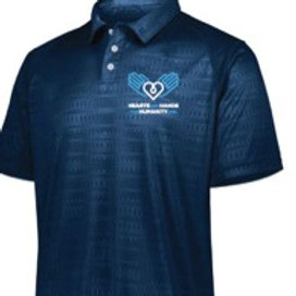 Mens Converge Polo Navy