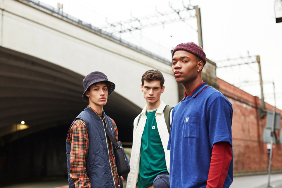 Ben Sherman B line SS20 Shot by Mark Gregson Art Directed by Ryan Blackwell