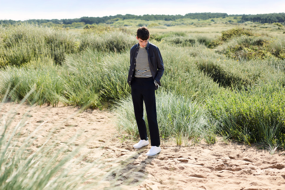 Melka Campaign shot in Formby Art direction by Ryan Blackwell Photographed by Guy Farrow Styled by Jordan Schneider