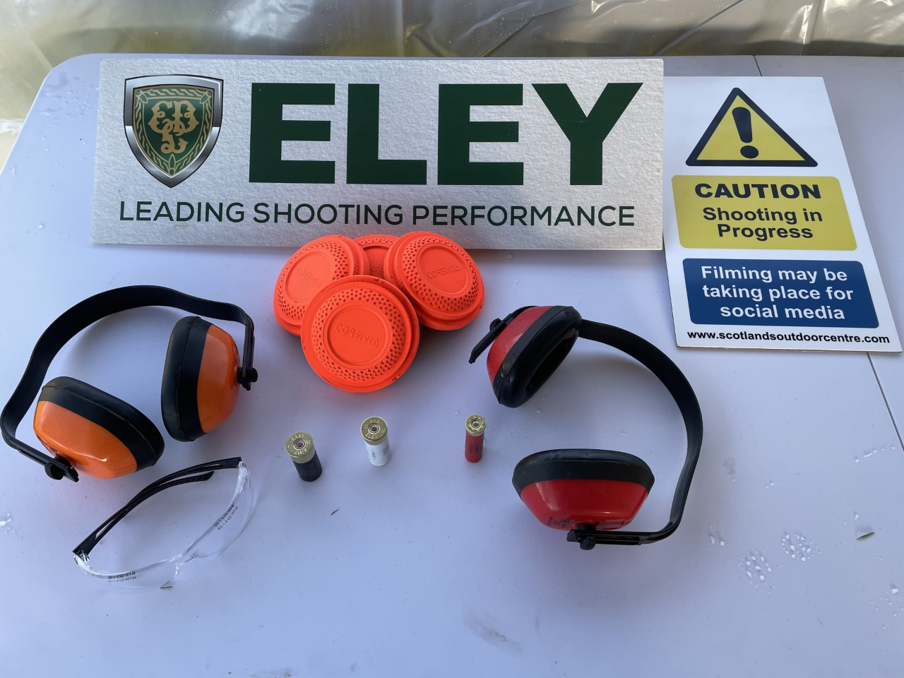 Clays, Cartridges and safety