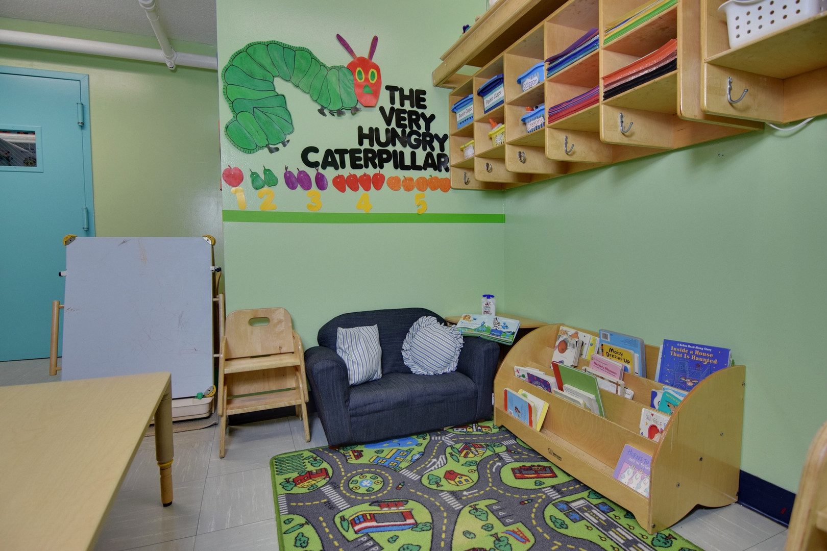 Toddler Room Reading Area