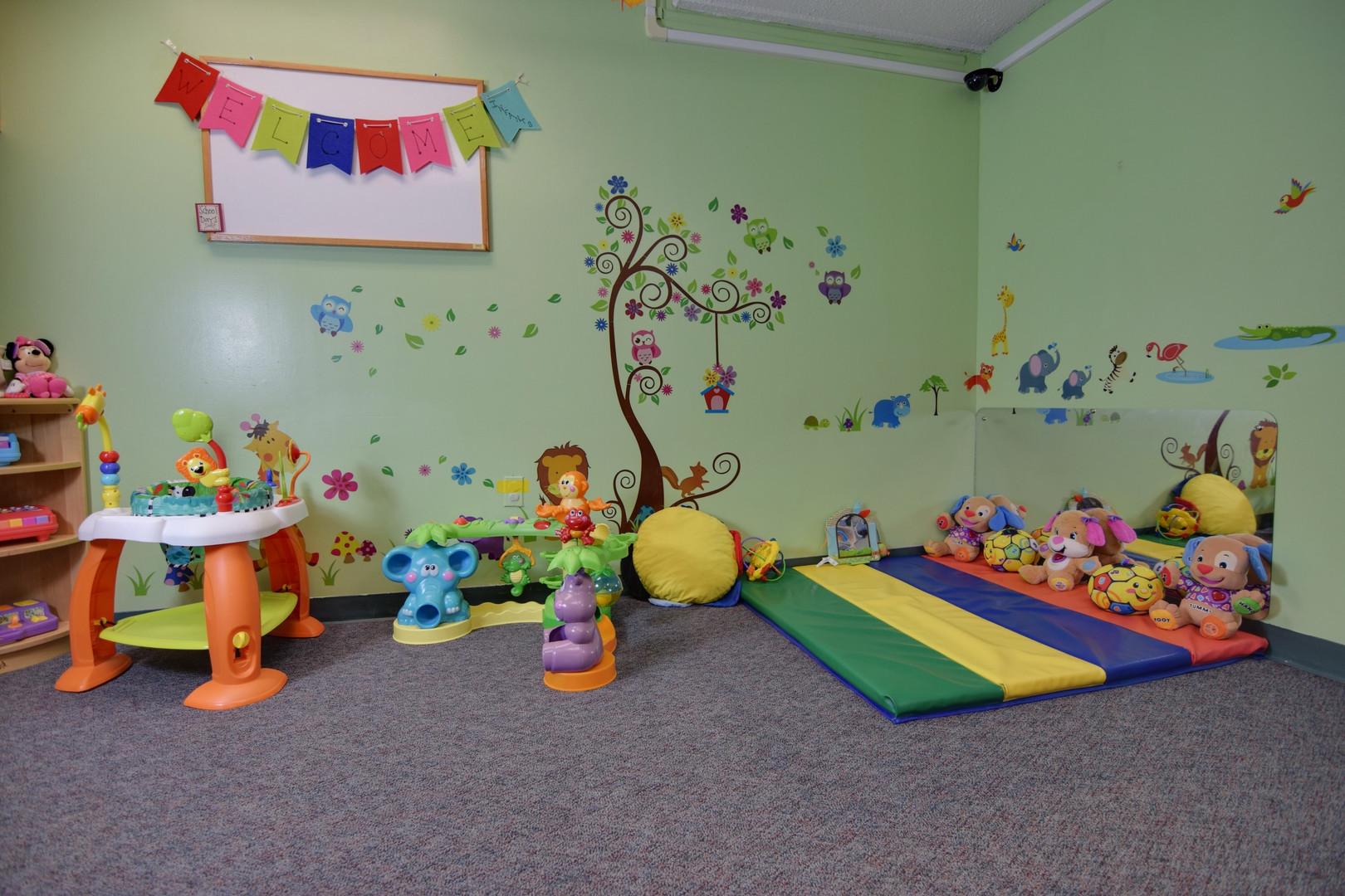 Infant Room Tummy Time!