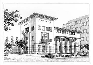 Northern Trust Bank Drawing - Houston, TX