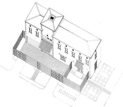 Cannady House Drawings - Southhampton, Houston