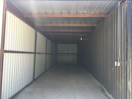 enclosed boat storage unit in Houston