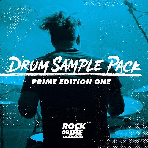 Rock Or Die Prime Edition One Drum Sample Pack