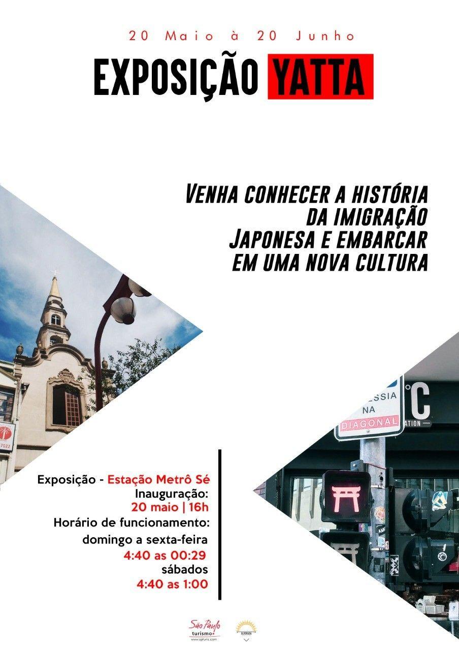 Flyer Exposição de Arte