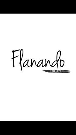 Logomarca Flanando em Arte