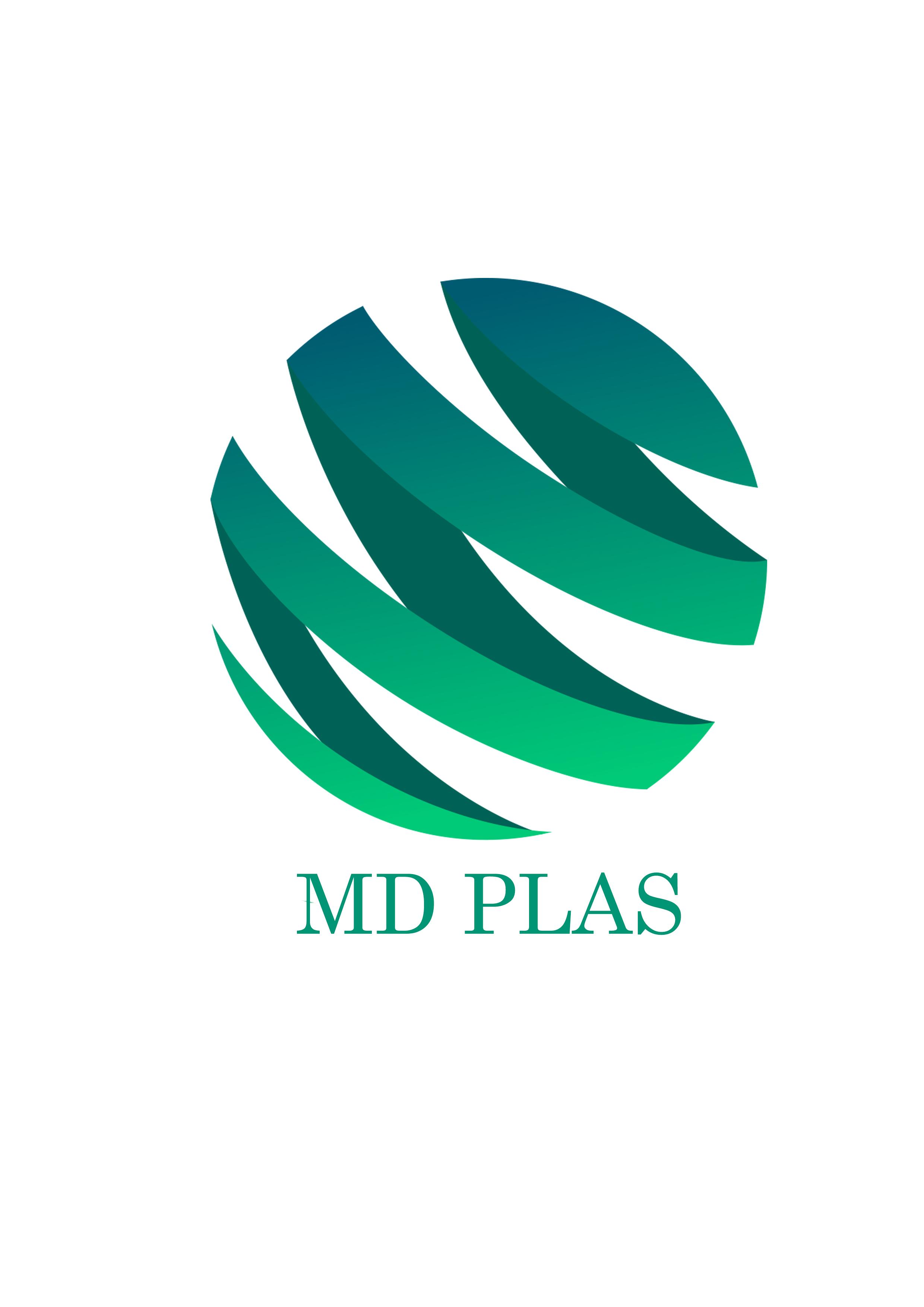 Logomarca MD Plas