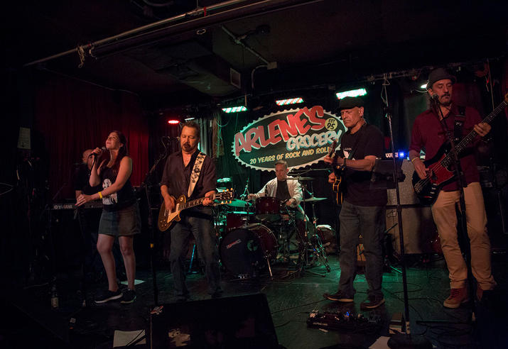 The Band at Arlene's Grocery