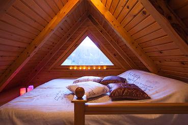 Top room in Villa Jelenic by Bertovic