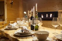 Villa Jelenic - dining room