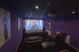 Home cinema @Villa Jelenic by Bertovic