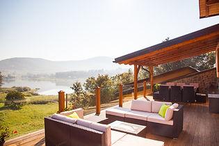 Lakeview terace @ Villa Jelenic by Bertovic